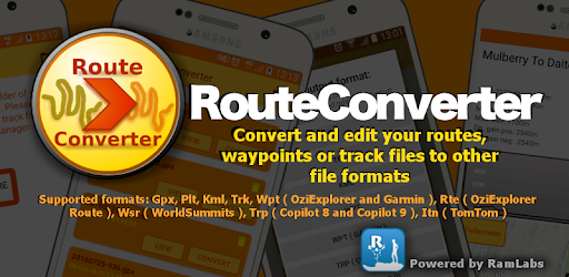 Route Converter: Gpx, Kml, Trk - Apps on Google Play