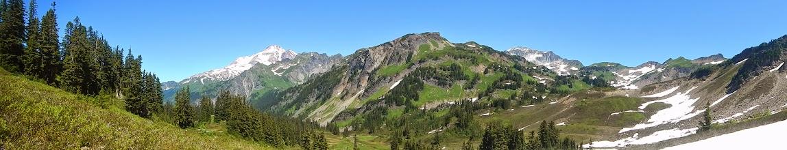 Photo: View of Glacier Peak