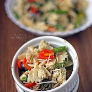 Chicken Asparagus Pasta Salad