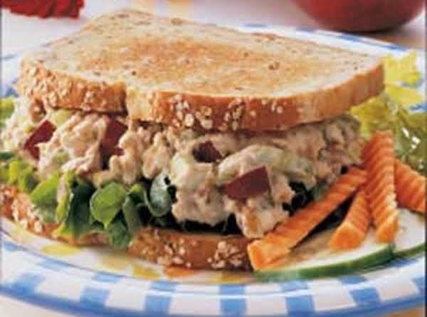 Apple Tuna Sandwiches image