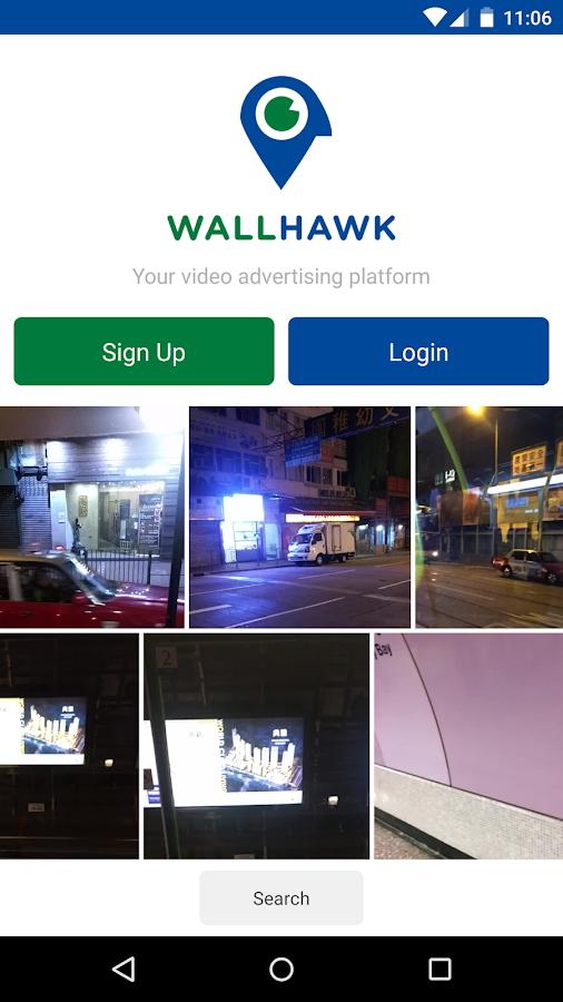 Wallhawk- screenshot