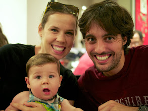 Photo: We were also lucky enough to get to see our friend Antonio, who was up in Barcelona from Gibraltar for a work conference. We learned during this visit that he and his partner were expecting a baby, who has since been born and is absolutely gorgeous. We can't wait to meet him on our next visit.