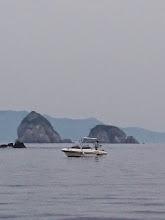 Photo: 近くの船の方もヒット! ・・・ネット持って行こうかな?
