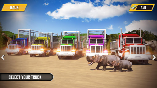 Animal Transporter Offroad Drive screenshots 3
