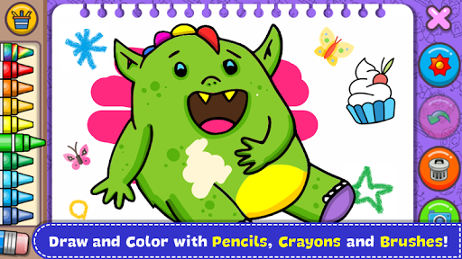 Fantasy - Coloring Book & Games for Kids 1.18 9