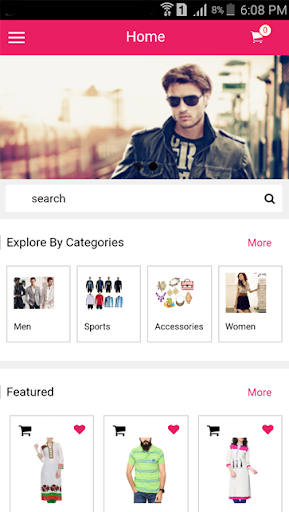 Opencart Mobile Android App