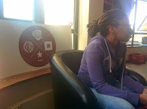 Photo: At iHub, Ushahidi HQ