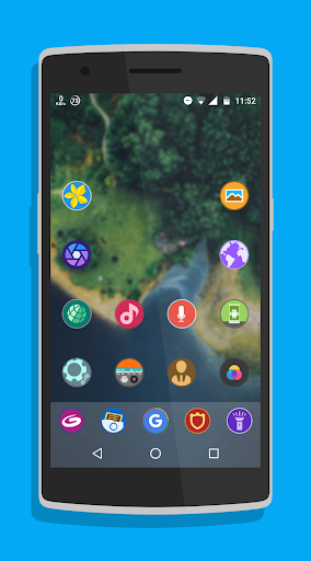Cerco Pro - Icon Pack Lietotnes par Android screenshot