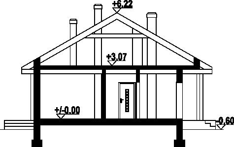 Piaseczno mm dw + wynajem - Przekrój
