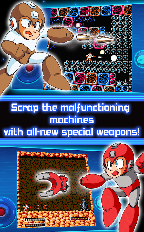 MEGA MAN 3 MOBILE- screenshot