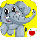 Animal Sounds Flashcards - Learn Animal Names icon