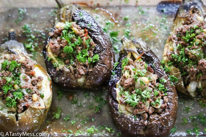 Stuffed Baby Eggplants Recipe