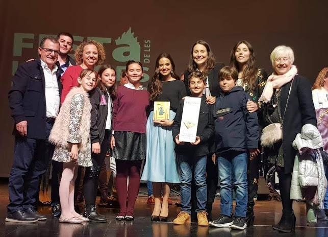 Barri Sant Francesc d'Oliva guanya el Premi Lletres Falleres al llibret + Complet