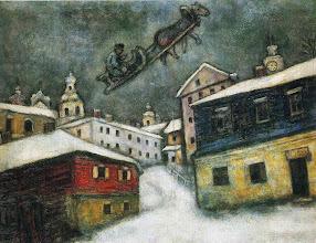 """Photo: Marc Chagall, """"Villaggio russo"""" (1929)"""