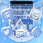 Ice Snow Launcher Theme 2.3