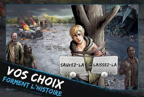 The Walking Dead: Road to Survival Capture d'écran