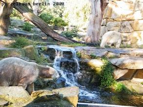 Photo: Gianna wandert zur Hoehle - Knut bleibt vorsichtig ;-)