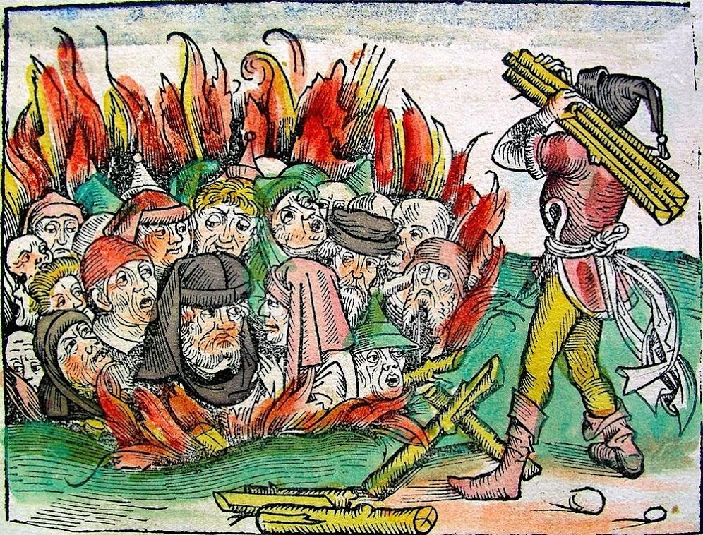 A morte negra e os doutores da peste