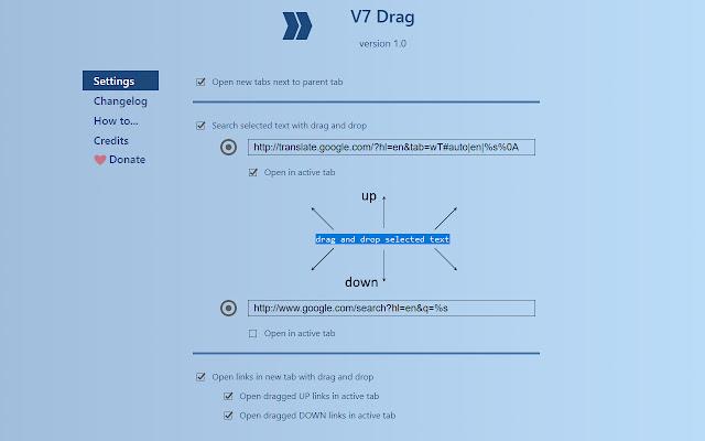 V7 Drag