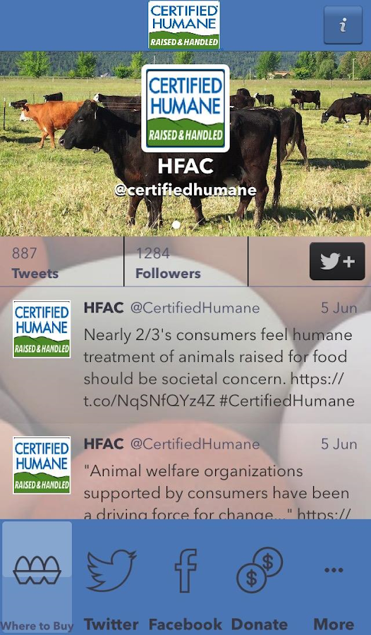 certifiedhumane- screenshot