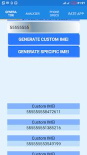 IMEI Generator & Phone Specs - náhled