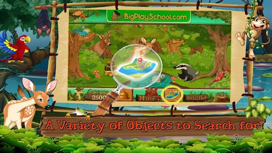 Free New Hidden Object Games Free New The Jungle- screenshot thumbnail