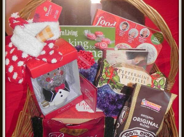"""There was also a basket giveaway with """"A Few of My Favorite Winter Things""""..."""