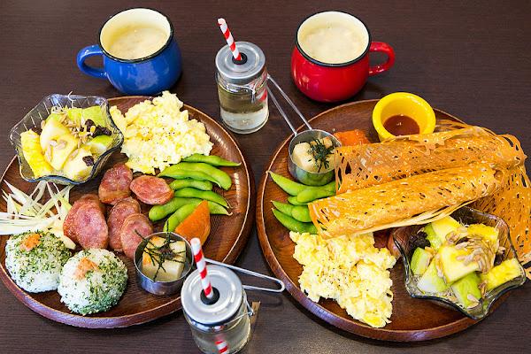旺德實驗室 台式豐盛早午餐~ 把懷舊和創新實驗結合~ 支持台南在地農業好店!