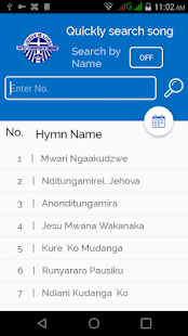 Baptist Hymns in Shona- screenshot thumbnail
