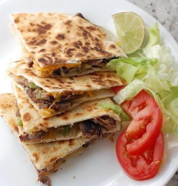 Grilled Steak (or Chicken) Quesadillas Recipe