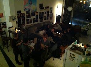 Photo: Party at the Kibbutz