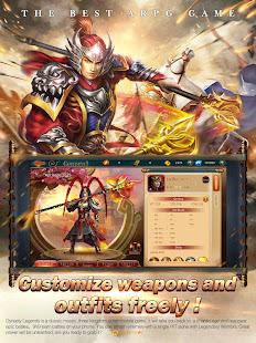 Game Dynasty Legends: Awake-Let's Fight! APK for Windows Phone