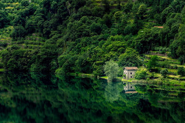 La casa del lago Moro di Heisen.22