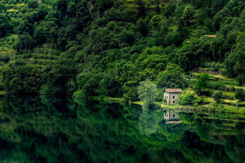 La casa del lago Moro di Alan_Gallo