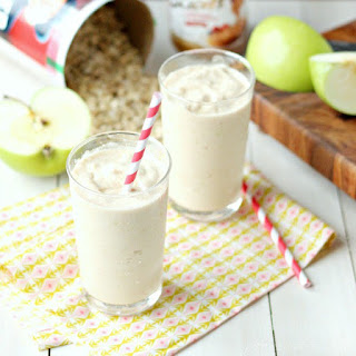 Green Apple Cookie Butter Oat Smoothie