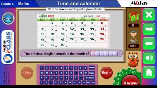 MiDas eCLASS Maths 4 Demo screenshot 6