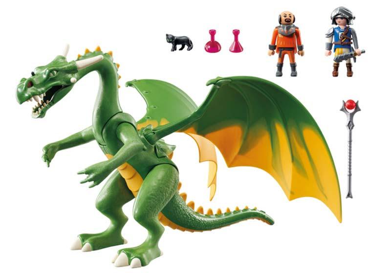 Contenido de Playmobil® 9001 Dragón de Kingsland con Alex