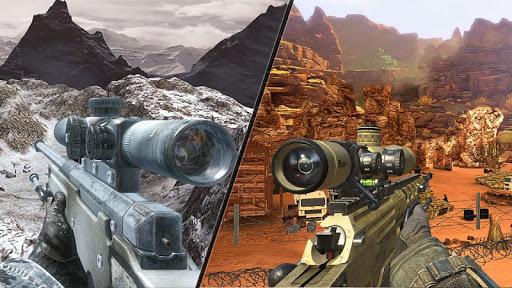 Mountain Sniper Shooting: 3D FPS  screenshots 13