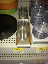 Photo: Once I finished getting the food I checked my list and realized I needed some dip cups. I found these in the household department.