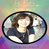 My Name Keypad Lock Screen