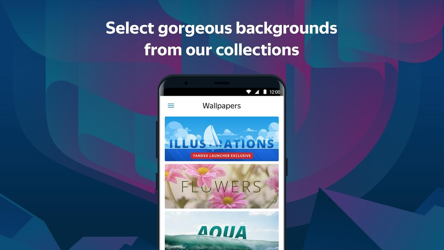 Launcher screenshots