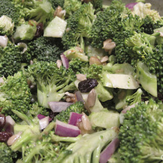 Low Fat Broccoli Salad.