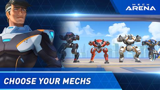 Mech Arena: Robot Showdown apkmartins screenshots 1