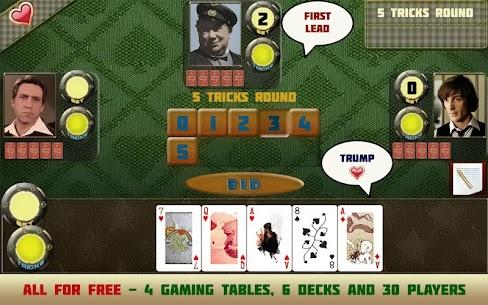Card game Poker raspisnoy 6