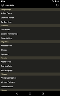 Skill Tree Lookup for ESO- screenshot thumbnail