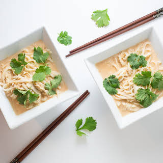 Slow Cooker Curried Noodles.