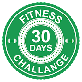 30 Days Fitness Challenge Workout with Diet Guide