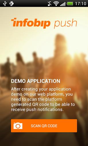 Infobip Push Demo