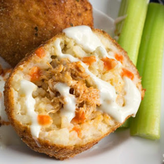 Buffalo Chicken Arancini