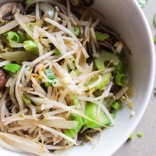 Bean Sprouts Stir Fry (Chow Mein).